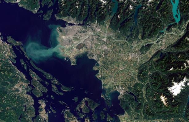 Фотообои 3д лагуна NASA (terra-00031)