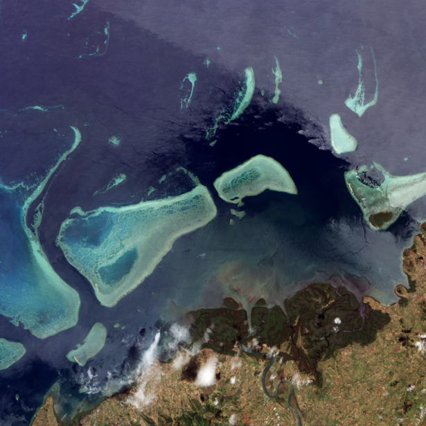 Фотообои фото смыкание земли и воды (terra-00104)