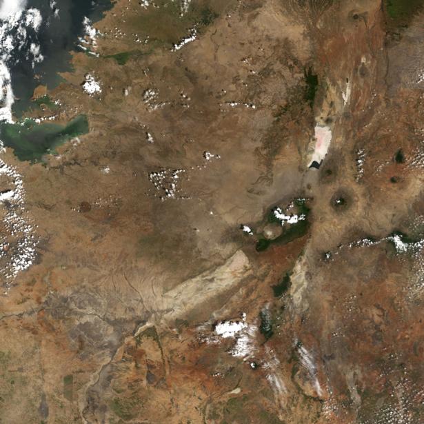 Фотообои горы сверху (terra-00257)