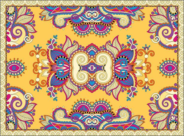 Скатерть цветочная фантазия (0130)