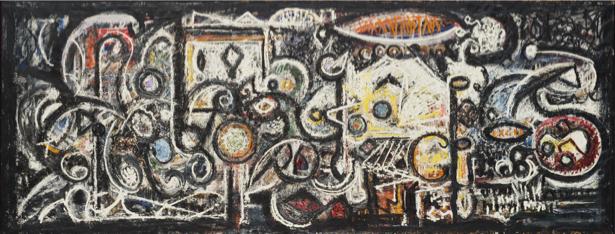 Пузетт-Дарт, экспрессионизм (art-0000633)