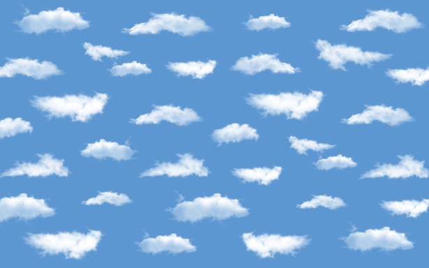 Фотообои небо с облаками (children-0000395)