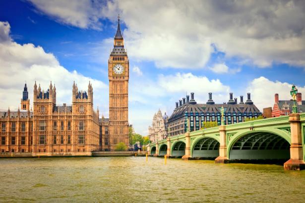 Фотообои Лондон Биг Бен, мост (city-0000103)