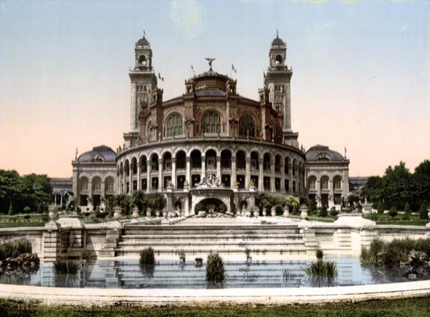 Фотообои дворец Шайо дворцы (city-0000393)