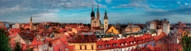 Фотообои Хорватия Сплит Загреб (city-0000483)