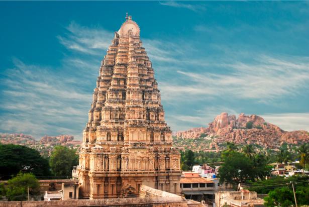 Фотообои Храм в Хампи Карнатака (city-0000590)
