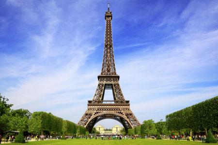 Эйфелевая башня Фотообои Париж (city-0000665)