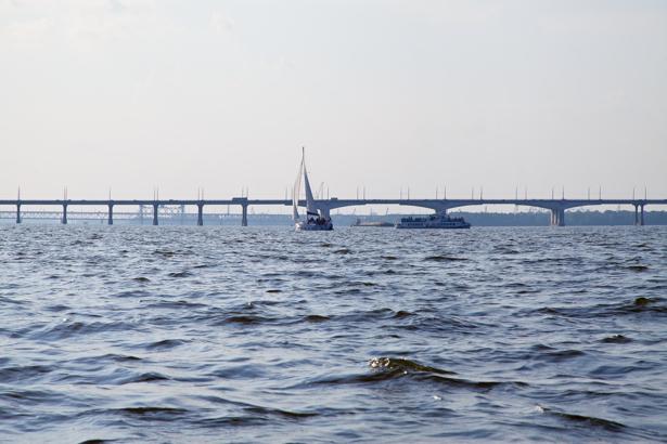 Фотообои Днепропетровск новый мост (city-0000891)