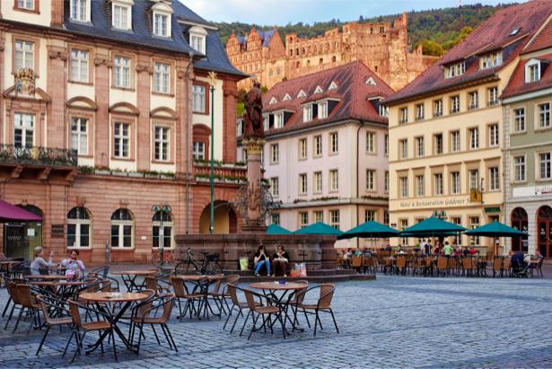 Фотообои европейская улица Германия (city-0000974)