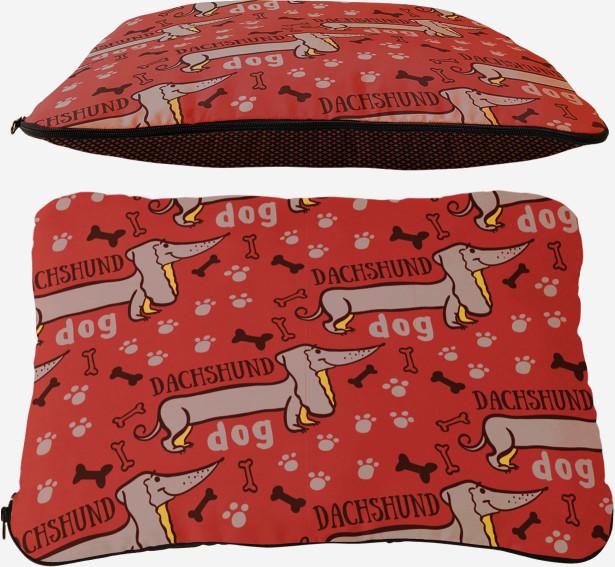 Подушка Dachshund (dog-8)