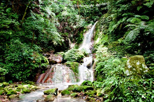 Фотообои с природой горный водопад (nature-00129)