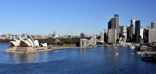 Фотообои Сиднейский оперный театр (panorama-77)