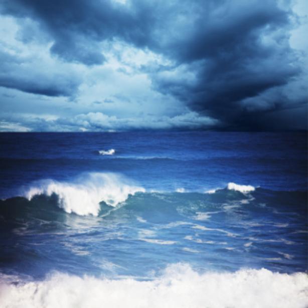 Фотообои фото море шторм волны (sea-0000081)