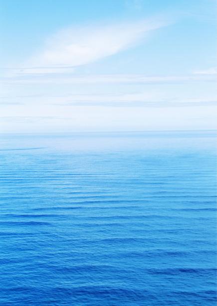 Фотообои морская гладь и небо голубое (sea-0000164)