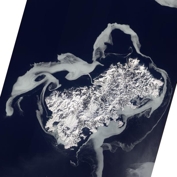 Фотообои 3д одиночество остров (terra-00045)