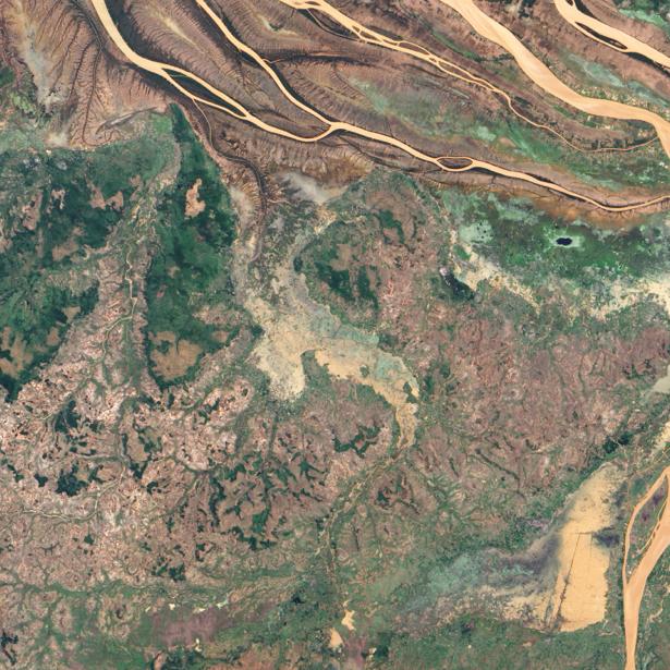 Фотообои фото песочные реки (terra-00121)