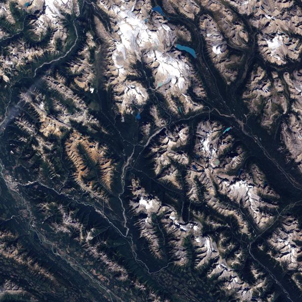 Фотообои на стену текстура гор (terra-00200)