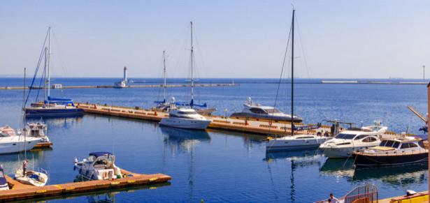 Фотообои Одесский причал для лодок (ukr-30)