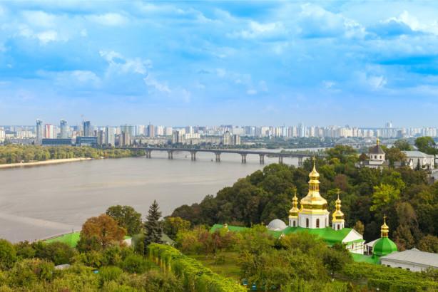 Фотообои Панорама Киева (ukr-41)