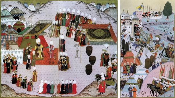 Иллюстрация к произведению - Роксолана, миниатюры XVI в. (ukraine-0199)