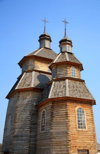Фотообои Запорожская Сечь храм (ukraine-0264)
