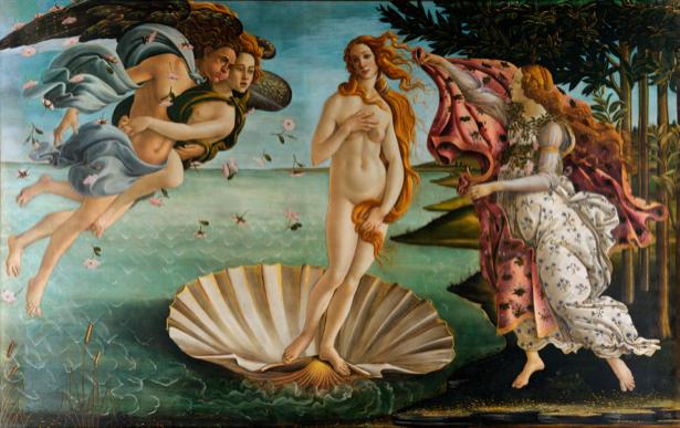 Боттичелли Рождение Венеры (art-0000028)