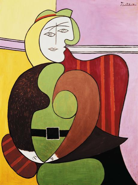 Пабло Пикассо. Портрет дамы (art-0000102)