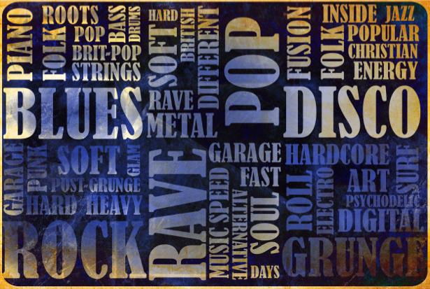 Фотообои негатив музыкальный текст (background-0000240)