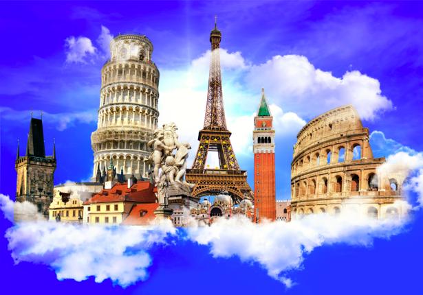Фотообои европейские достопримечательности (city-0000460)
