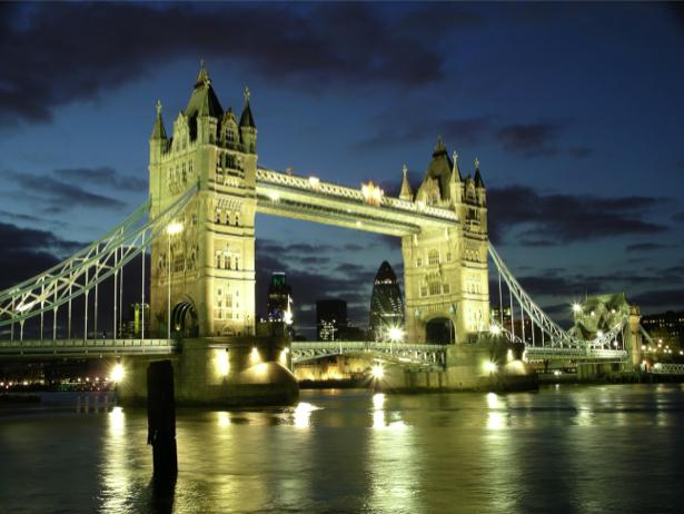 Англия Фотообои Тауэрский мост (city-0000731)
