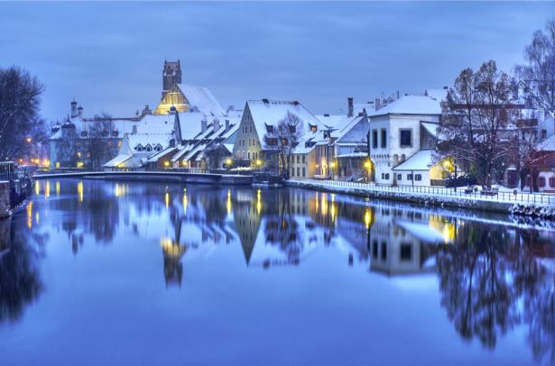 Фотообои Германя зимняя Европа (city-0000741)