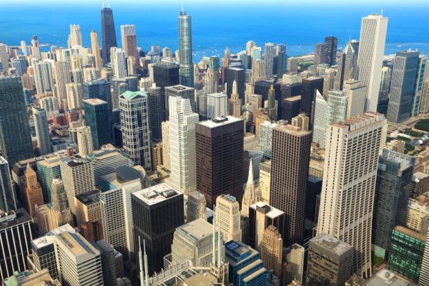 Фотообои Штаты небоскребы (city-0000824)