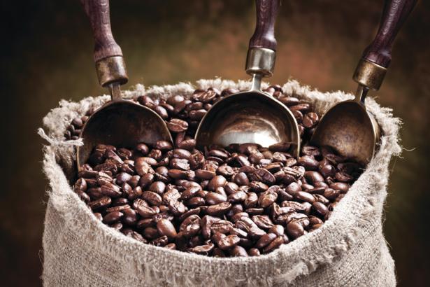 Фотообои для кухни мешок кофе (food-0000163)