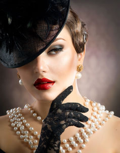 Фотообои ретро женщина (glamour-303)