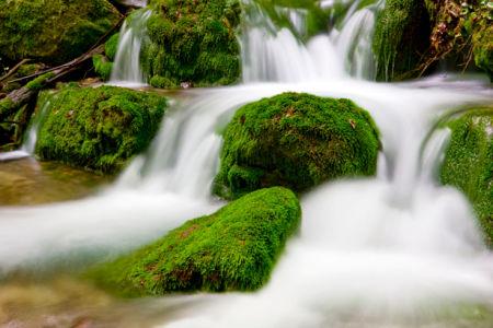 Фотообои с природой водопад камни каскад (nature-00020)