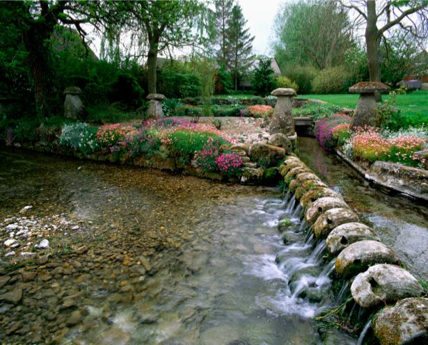 Фотообои природа парк вода (nature-00387)