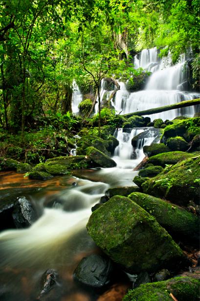 Фотообои каскады камни водопад (nature-00460)