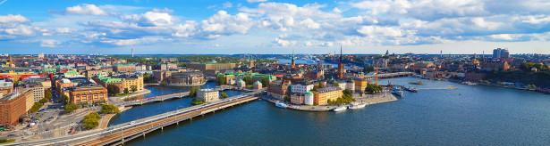 Фотообои Панорама Стокгольма (panorama-73)