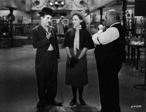 Чарли Чаплин, актер (retro-vintage-0000276)
