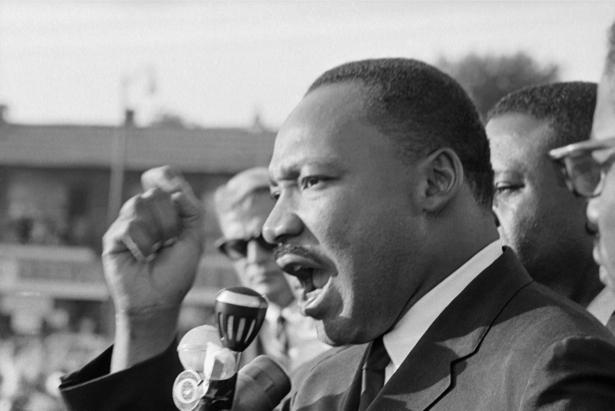 Мартин Лютер Кинг, американский проповедник (retro-vintage-0000340)