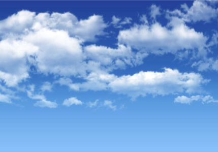 Фотообои фото голубое небо облака (sky-0000121)