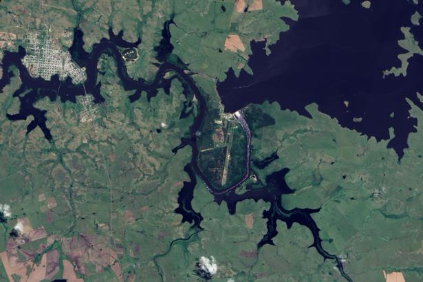 Фотообои NASA суша (terra-00272)