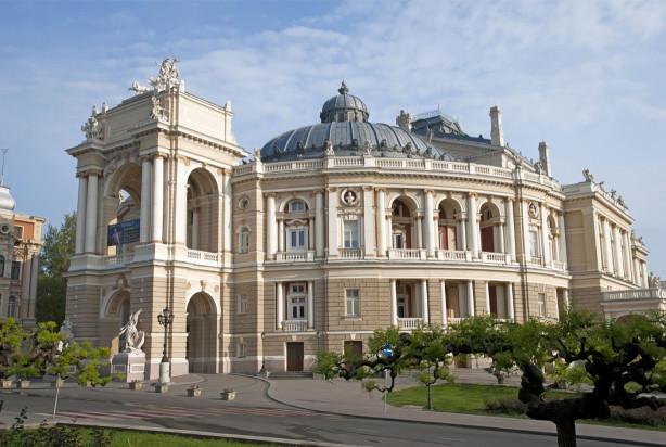 Фотообои Одесский театр оперы и балета (ukr-22)