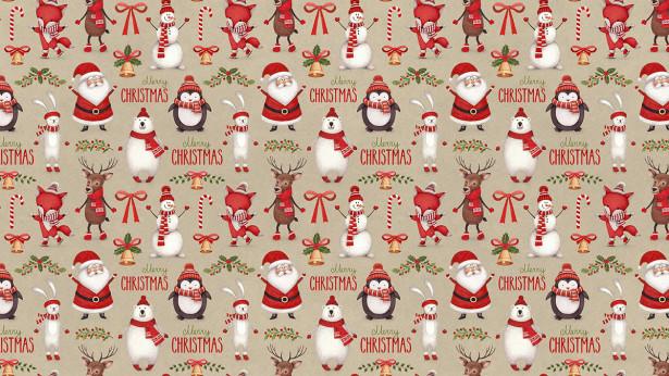 Скатерть Merry Christmas-1 (0192)