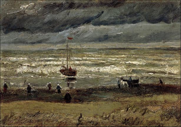 Ван Гог пейзаж (art-0000165)