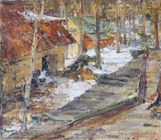 Фешин, пейзаж (art-0000311)