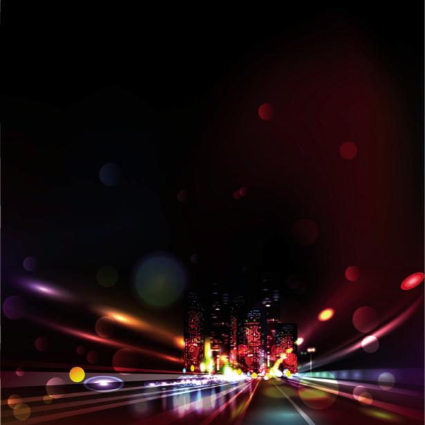 Фотошторы дорога в город (bedroom-curtain-00018)