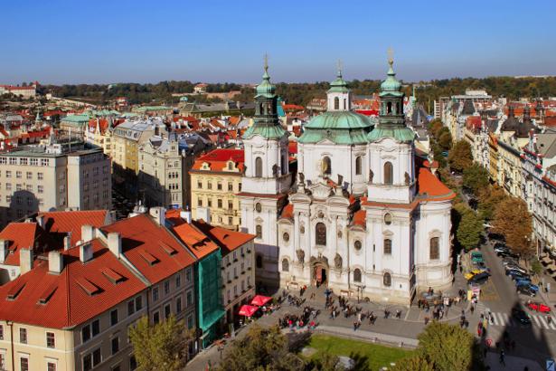 Фотообои Чехия Прага костел (city-0000719)