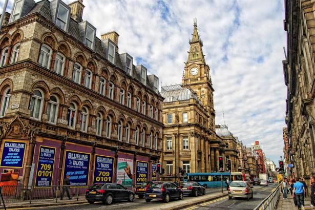 Фотообои Европа Ливерпуль Англия (city-0000735)