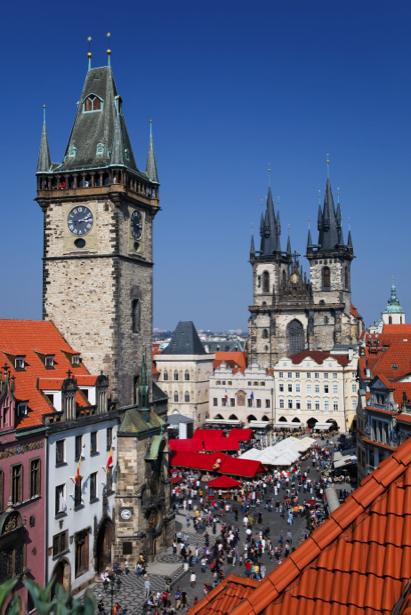 Фотообои Чехия Прага костел (city-0000753)